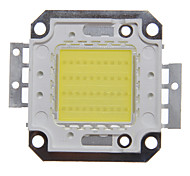 40W High Power Integrado Branco Frio Praça LED Module (DC 32-35V)