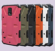Für Samsung Galaxy Hülle Stoßresistent / mit Halterung Hülle Rückseitenabdeckung Hülle Panzer PC Samsung S5 / Note 2