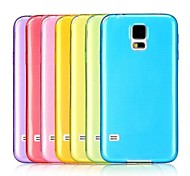 Ultra Slim Transparent Soft TPU Back Case for Samsung Galaxy S5 I9600
