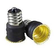 E12 para E14 Lâmpadas LED soquete adaptador