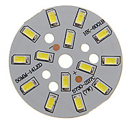 7W modulo di raffreddamento del LED 600-650LM White Light 5730SMD Integrati (21-24V)