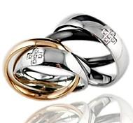 Enclavamiento Everlasting Love Never separar el amor del anillo del taladro del sistema Lovers
