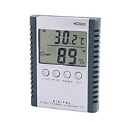 "HC520 2.5"" LCD Indoor Outdoor Digital Temperature Humidity Meter with Probe"