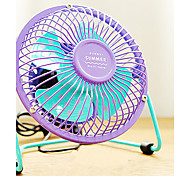 Colorful Little Electric Fan Desk Fan