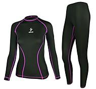arsuxeo indossare strato di base maniche lunghe compressione sport bodybuilding idoneità esecuzione di yoga delle donne