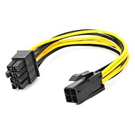 4Pin to 8Pin Graphics Card Power Cable 18cm