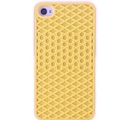 Maillage Design souple en silicone pour iPhone 4/4S (couleurs assorties)