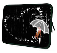 "Una caja de la manga Patrón Laptop Umbrella Girl para 13.3 ""MacBook Air / Pro / Pro con Retina Display"