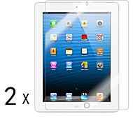 [2-Pack] alta calidad Invisible Shield Smudge Protector de pantalla para iPad Prueba 2/3/4