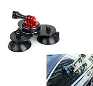 Big Size Removable Gopro Suction Cup Mount with Screw (Black)