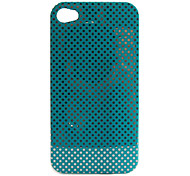 Etui Rigide à Pois pour iPhone 4/4S - Multicolore