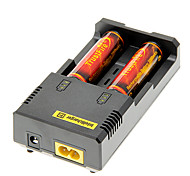 TrustFire 3000mAh 18650 Battery(2pcs) w/ Overcharge Protection+NETCORE I2 Battery Charger +Battery Storage Box