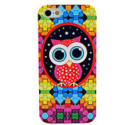 Cartoon Owl Pattern Soft Tpu Imd Case for iPhone 5/5S