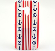 For Motorola Case Pattern Case Back Cover Case Anchor Hard PC Motorola