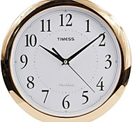 "Timess™ 11""H  Elegant Style Rose Gold Plating Super Mute Wall Clock"