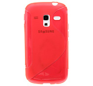 Durable Crystal Gel Skin (TPU) Case for Samsung Galaxy Ace 2 I8160