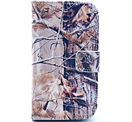 Grey Camo Tree Pattern Soft Case for Samsung Galaxy Core I8262