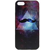 Beard Pattern Hard Case for iPhone 5/5S