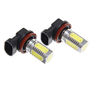 H11 H8 11W White Light LED for Headlight Bulb (10-24V)
