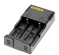 NETcore I2 Caricabatteria per 18650/14500/16340 (per 2 batterie)