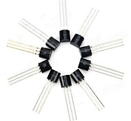 30V NPN Triode Power Transistor Transistor Package - Noir (10 PCS)