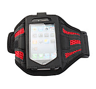 Premium Sports Armband for Apple iPhone 4/iTouch 4 - Red
