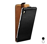 Geauine Leather Flip Case for Sony Xperia Z2 Full Protection