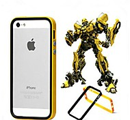 Hybrid Flexible TPU + PC Frame Bumper Case  for iPhone 5/5S (Assorted Colors)