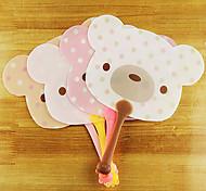 Piggy Shape Plastic Hand Holding Fan