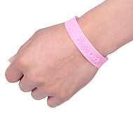 Adjustable Mosquito Repellent Bracelet Vervel Random Color Delivery