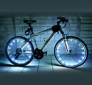 FJQXZ 18 LED 2 Modes White Cycling Wheel Light - 1 PC