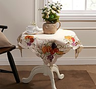 "Easter Harvest Season Square Tablecloths 85X85CM SQ(33X33"")"