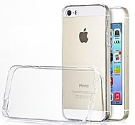ultrasottile cassa posteriore trasparente per iPhone 5 / 5s