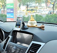 APPS2CAR® Magnetic Car Cd Slot Mount Holder with Suction Cup for Samsung&iPhone Cell Phones