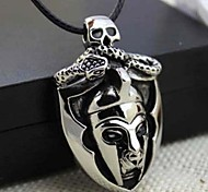 Z&X®  Personality Egyptian Pharaoh Titanium Steel Pendant Necklace