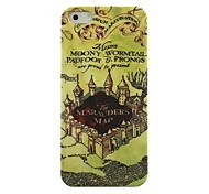 Strong Castle Pattern Hard Case for iPhone5/5S