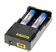 TrustFire 2000mAh 18650 Battery(2pcs) w/ Overcharge Protection+NETCORE I2 Battery Charger +Battery Storage Box