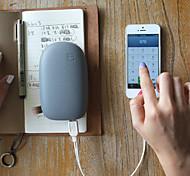 4200mAh mulit-Ausgang Steinform externe Batterie für iphone6 / 6plus / 5s samsung s4 / 5 und andere htc