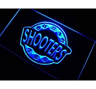 Shooter Happy Hour Bar Beer Neon Light Sign