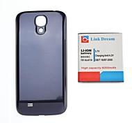 Enlace Sueño 3.7V 6000mAh Engrosada Batería del teléfono celular + azul de la contraportada para S4 i9500 I545 I337 L720 M919 R970 (B600BC)