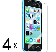 [4-Pack] Premium High Definition Clear Screen Protectors for iPhone 5C