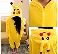 Cute Pikachu Kids Kigurumi Pajamas Sleepwear