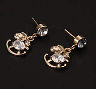 Drop EarringsJewelry Alloy / Rhinestone Party / Daily / Casual