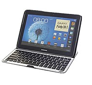 Wireless 3.0 Mobile Bluetooth Aluminum+ABS Keyboard for Samsung Galaxy Note 10.1 N8000