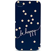 Margherite Be Hard Case felice Pattern for iPhone 4/4S
