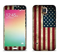 ENKAY The Stars and Stripes Pattern Body Sticker Protector for Samsung Galaxy S5 i9600 / G900