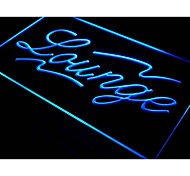I445 Lounge Bar Pub Club Cafe ABERTO Luz Neon Sign