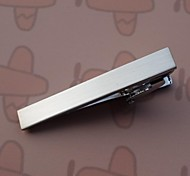 Vintage 4.3cm Men's Tie Clips (Silver) (1PC) Jewelry
