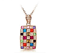 Women's The Queen of The Necklace Made with Swarovski Elements Crystal