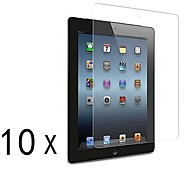 [10-Pack] Premium High Definition Clear Screen Protectors for iPad 2/3/4